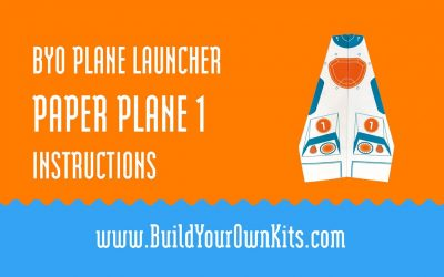 Do It Yourself – Tutorials – Paper Plane 1 Instructions | Build Your Own Kits