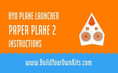 Do It Yourself – Tutorials – Paper Plane 2 Instructions | Build Your Own Kits