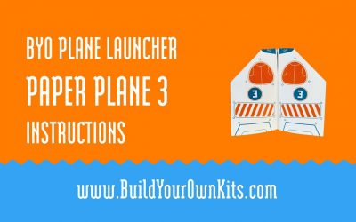 Do It Yourself – Tutorials – Paper Plane 3 Instructions | Build Your Own Kits