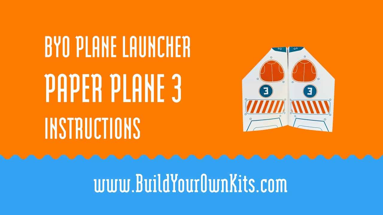 Paper Plane 3 Instructions   Build Your Own Kits