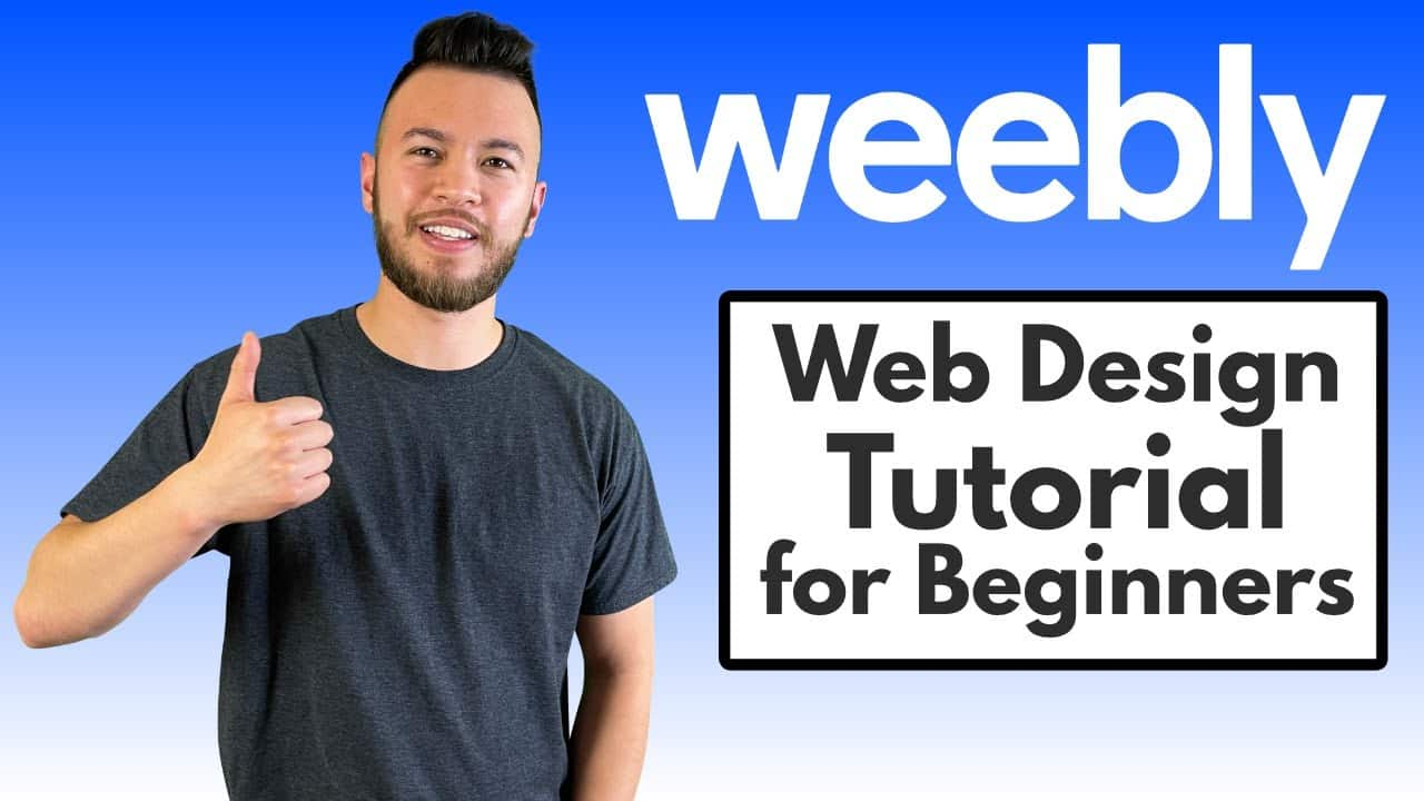 Weebly - How to Make a Website! (Tutorial for Beginners)