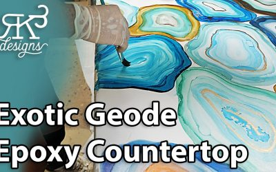 Do It Yourself – Tutorials – You Can Make Your Own DIY Geode Countertop | RK3 Designs
