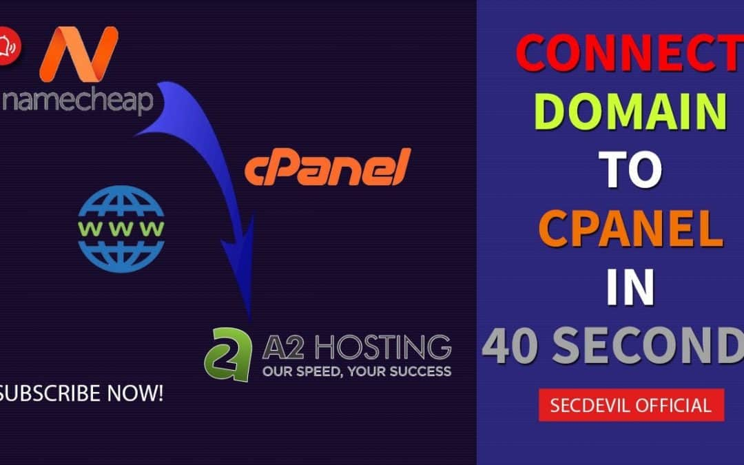 WordPress For Beginners – How to connect Namecheap Domain Name to A2Hosting cPanel in 40 seconds?   Full Tutorial 100% working