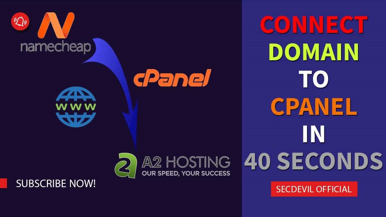 How to connect Namecheap Domain Name to A2Hosting cPanel in 40 seconds?   Full Tutorial 100% working