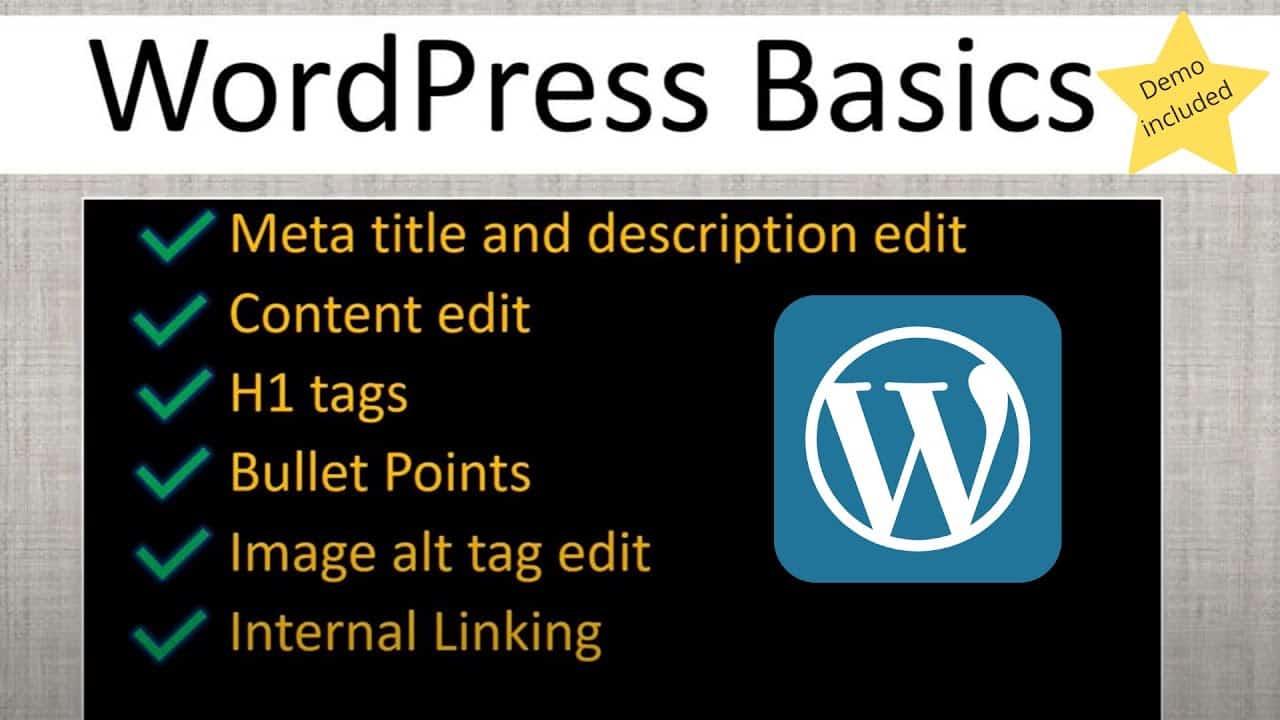 How to edit meta title, description &  alt attribute | WordPress Basics Tutorial