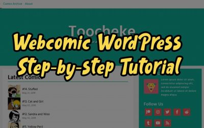 Do It Yourself – Tutorials – How to Create a Webcomic Website With WordPress