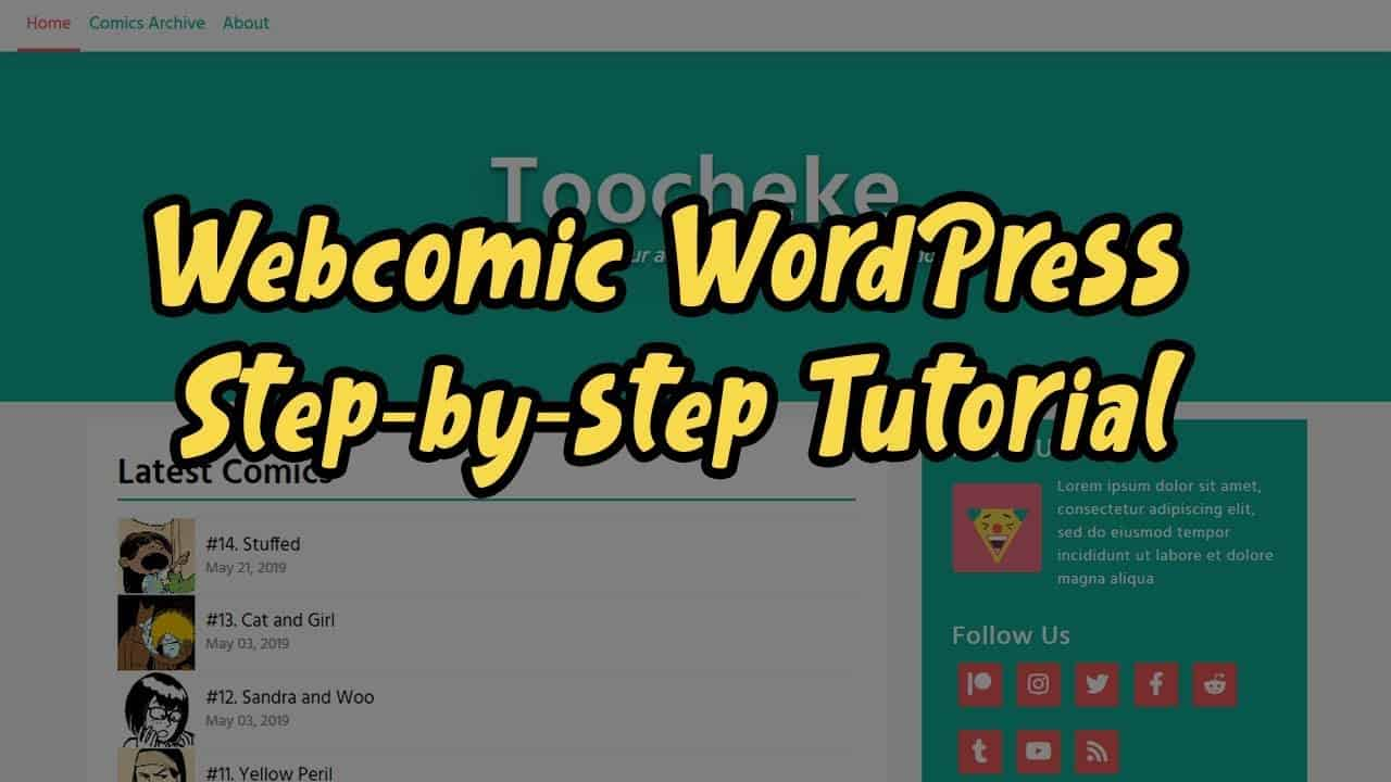 How to Create a Webcomic Website With WordPress