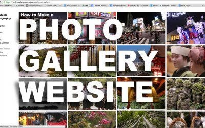 Do It Yourself – Tutorials – How to Make a Photo Gallery Website The Easy Way