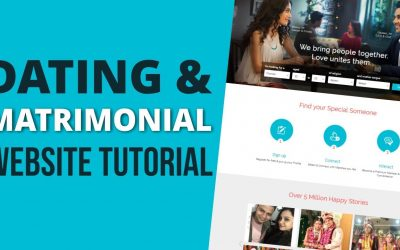 Do It Yourself – Tutorials – How to Make a Matrimonial & Dating Website with WordPress 2019 Tutorial