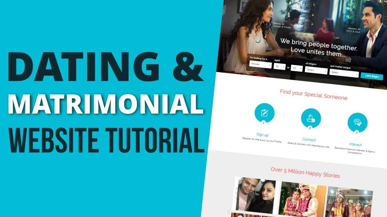 How to Make a Matrimonial & Dating Website with WordPress 2019 Tutorial