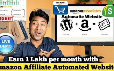 Do It Yourself – Tutorials – How to Create a fully Automatic Amazon Affiliate Website & Earn 1 Lakh + / Month – Live Proof & DEMO