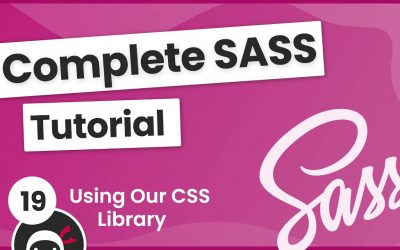 Do It Yourself – Tutorials – SASS Tutorial (build your own CSS library) #18 – Using the CSS Library