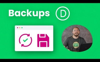 Do It Yourself – Tutorials – How To Create A Backup Of Your Divi Website