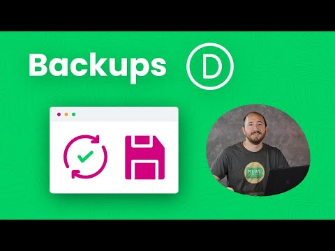 How To Create A Backup Of Your Divi Website