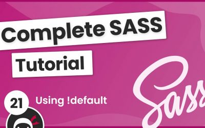 Do It Yourself – Tutorials – SASS Tutorial (build your own CSS library) #21 – Customizing the Library