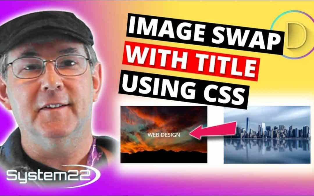 Divi Theme Image Swap With Title Using CSS 👍👈