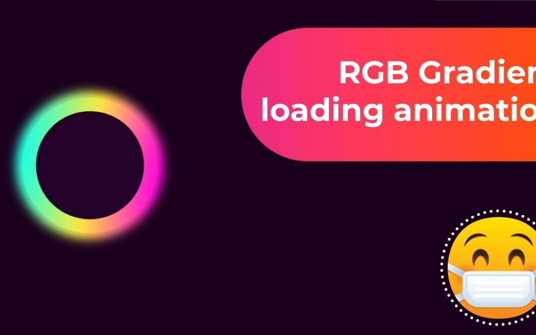 Glowing RGB Gradient loading CSS animation Effects – Ultimate CSS Animation