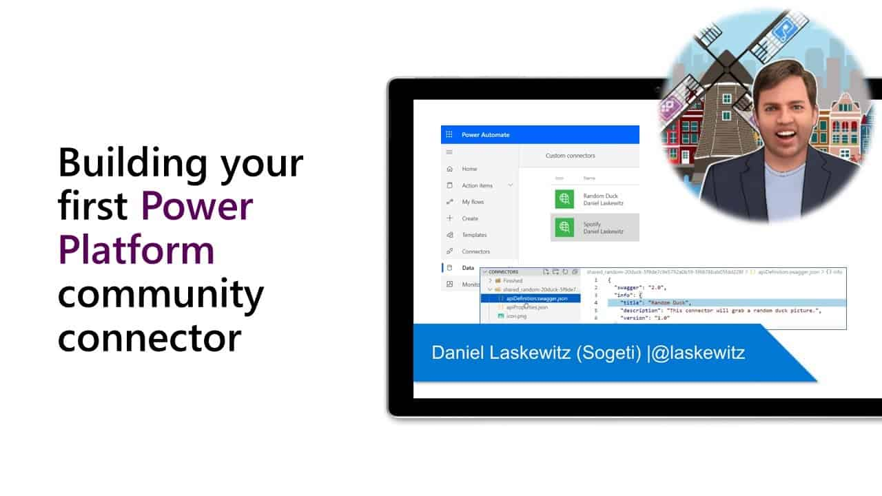 Building your first Power Platform community connector