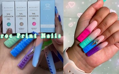 Do It Yourself – Tutorials – CROC PRINT OMBRE NAILS + MAKARTT BUILD YOUR OWN POLYGEL KIT! Nail Tutorial