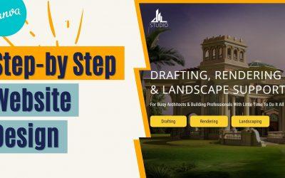 Do It Yourself – Tutorials – Create Custom Website Design With Canva | Architect Website Sample
