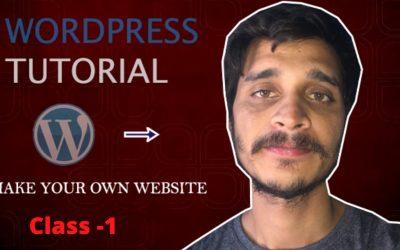 Do It Yourself – Tutorials – Difference Between WordPress, WordPress org and WordPress.com,Create Your Own Website with WordPress