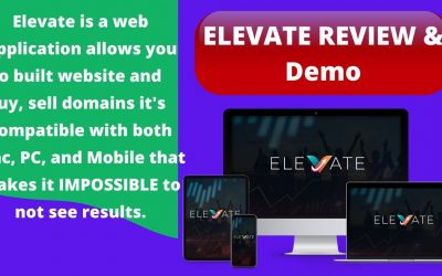 Do It Yourself – Tutorials – ELEVATE REVIEW & DEMO [ How to build a website ] & sell domains to make $50/$100 in 30 minutes