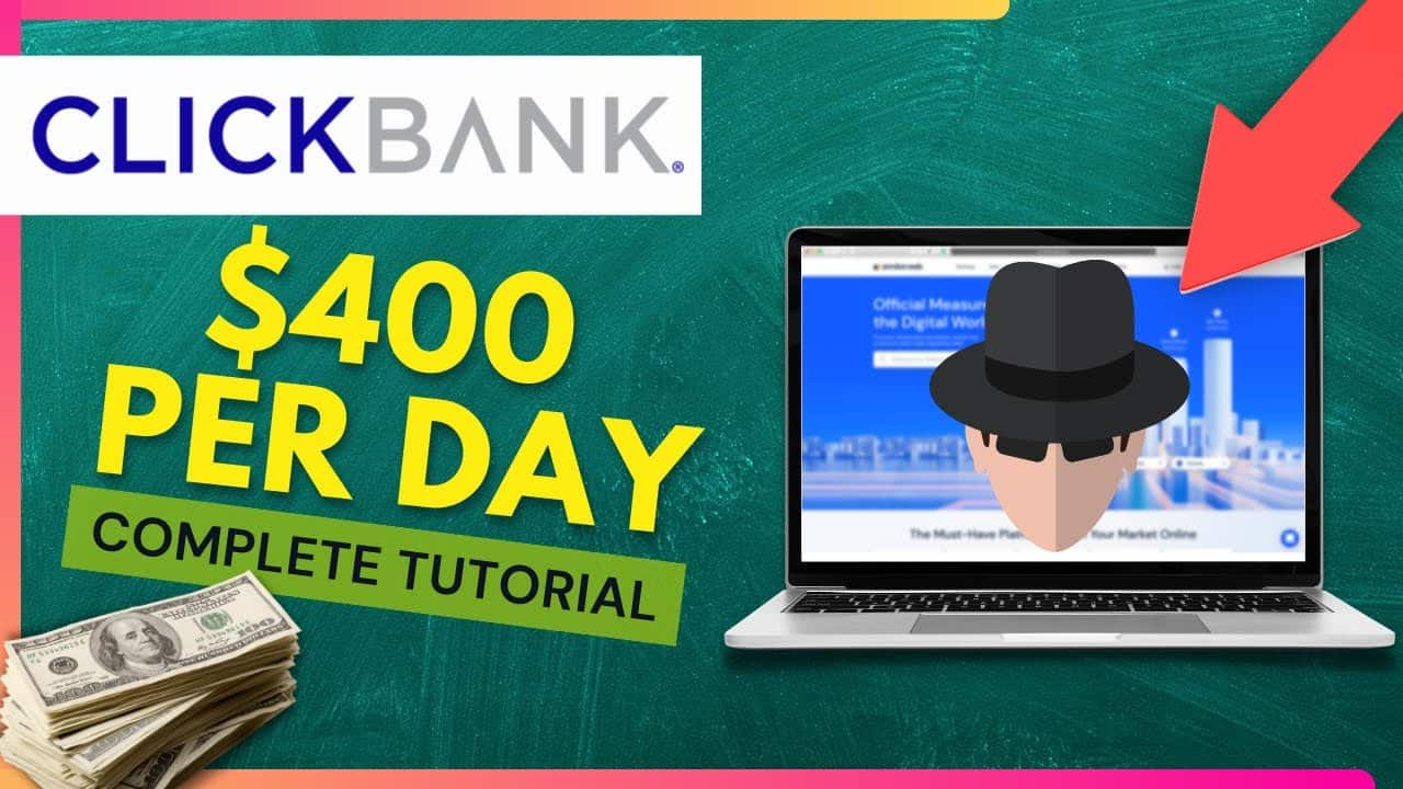 Easy $400 Per Day On ClickBank With This Hack [Step-By-Step Tutorial]