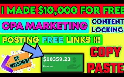 Do It Yourself – Tutorials – Free Course | CPA Content Locking Website | Make Money Online 2021 (FAST) | Affiliate Marketing