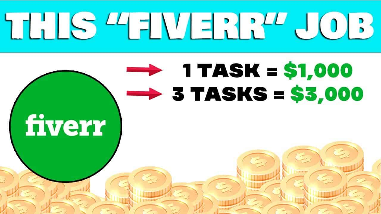 Get Paid $1000 From Fiverr For FREE! (2 Tasks = $2,000) (Make Money Online)