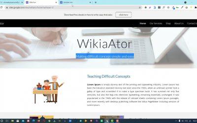Do It Yourself – Tutorials – Google Site: How To Design A Website Using Google Site for FREE