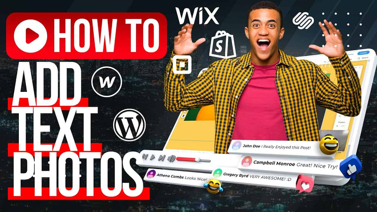 HOW CREATE A WEBSITE? / WIX.COM Boxes, Text, Photos Tutorial For Beginners