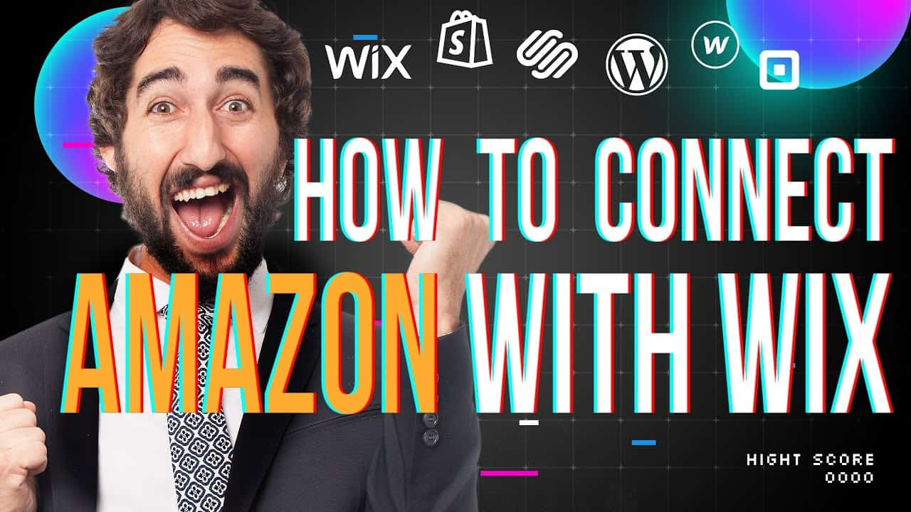 HOW TO CREATE Ecommerce WEBSITE? / Connect WIX.COM with Amazon Tutorial