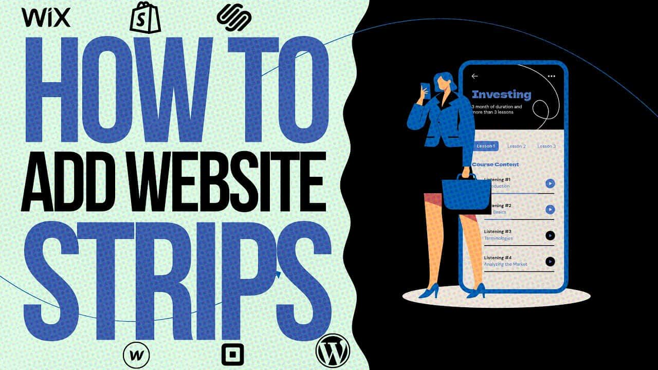 HOW TO CREATE WEBSITE Tutorial? / WIX.COM Site Strips For Beginners