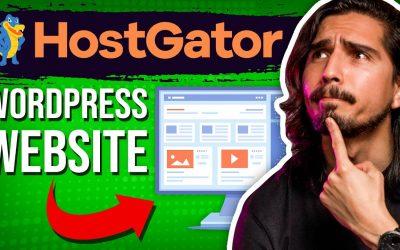 Do It Yourself – Tutorials – HostGator WordPress Tutorial – Create Your Website The EASY WAY