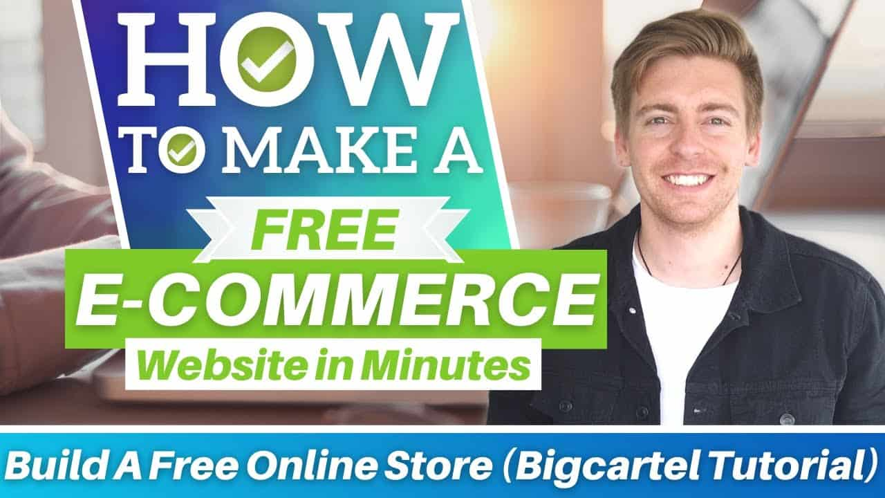 How To Make An E commerce Website for FREE in Minutes (Big Cartel Tutorial)