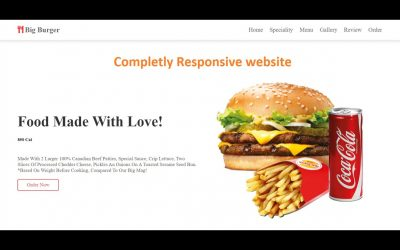 Do It Yourself – Tutorials – How to create Fully Responsive Website using HTML CSS Javascript