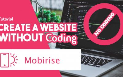 Do It Yourself – Tutorials – Mobirise Tutorial: Create Website without Coding [FREE Website Builder]