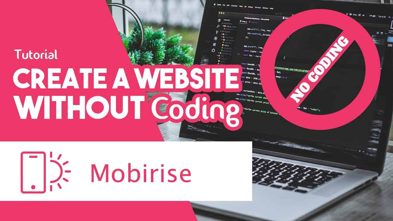 Mobirise Tutorial: Create Website without Coding [FREE Website Builder]