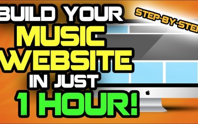 Do It Yourself – Tutorials – Music Producers: Build Your Website In 1 Hour! [TUTORIAL]