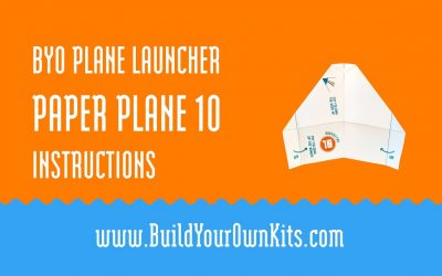 Do It Yourself – Tutorials – Paper Plane 10 Instructions | Build Your Own Kits