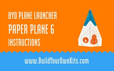 Do It Yourself – Tutorials – Paper Plane 6 Instructions | Build Your Own Kits