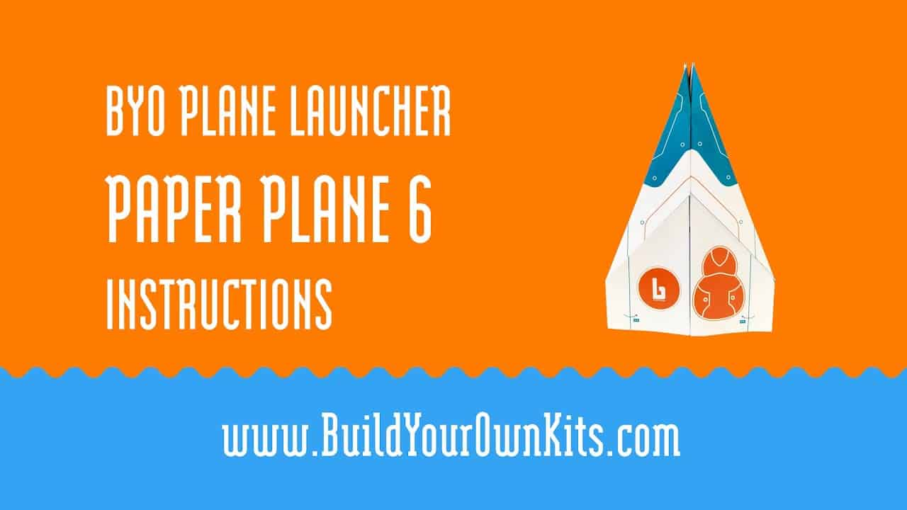 Paper Plane 6 Instructions   Build Your Own Kits