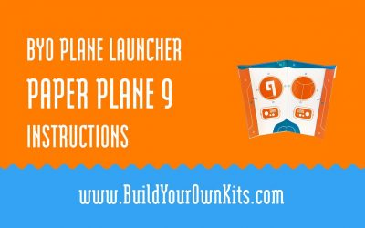 Do It Yourself – Tutorials – Paper Plane 9 Instructions | Build Your Own Kits