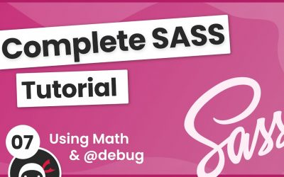 Do It Yourself – Tutorials – SASS Tutorial (build your own CSS library) #7 – Using Math