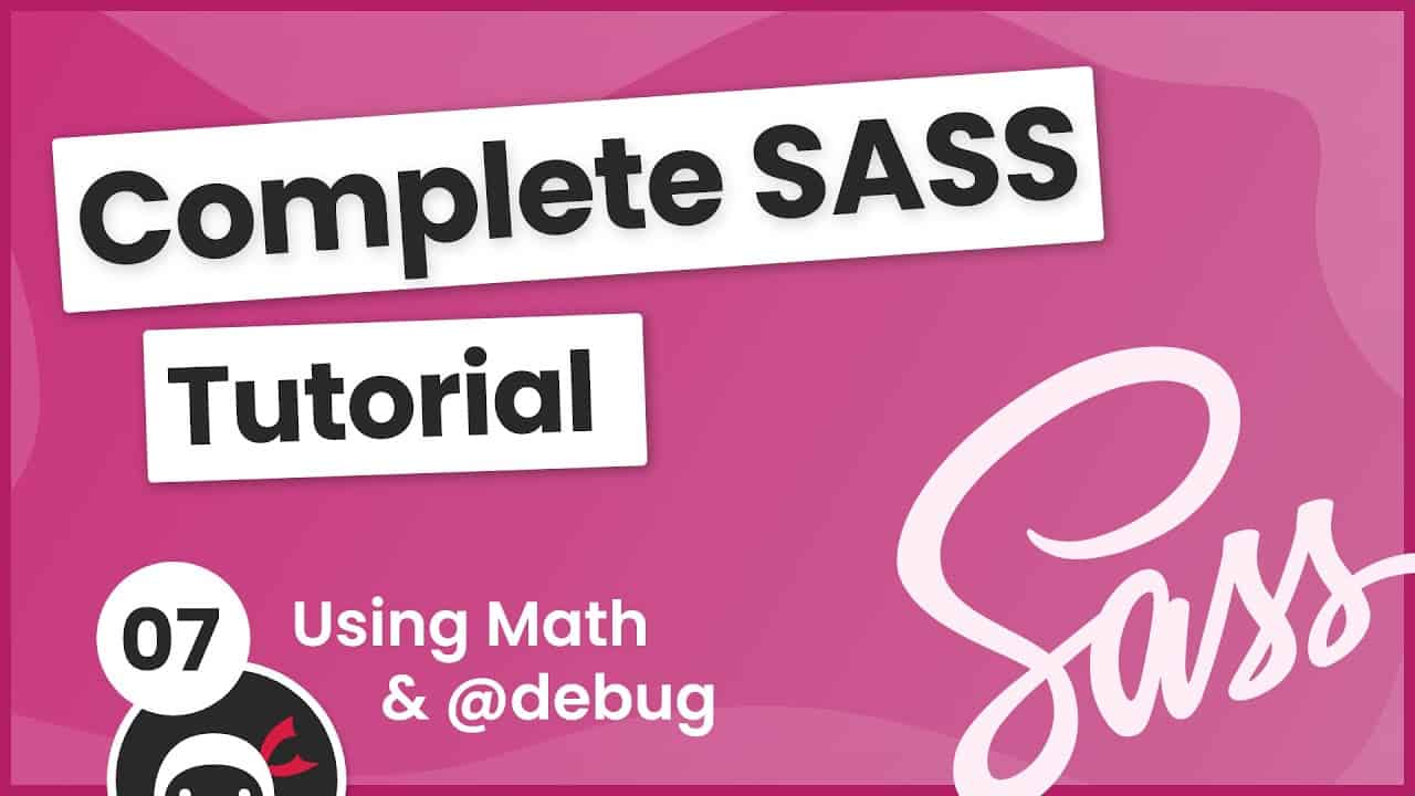 SASS Tutorial (build your own CSS library) #7 - Using Math