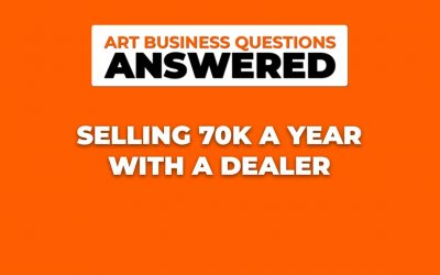 Do It Yourself – Tutorials – Selling 70k a year with an art dealer