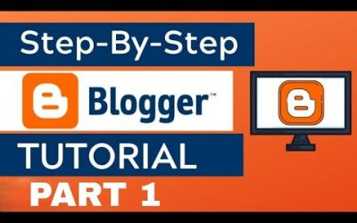 Do It Yourself – Tutorials – Step-By-Step Blogger Tutorial For Beginners – How to Create a Blogger Blog For Free