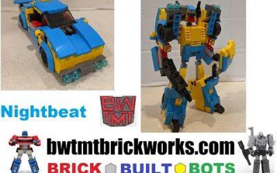 Do It Yourself – Tutorials – Transformers Headmaster Nightbeat by BRICKWORKS BRICK BUILT BOTS