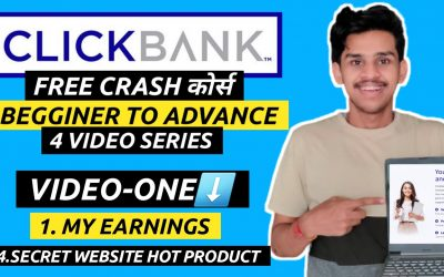 Do It Yourself – Tutorials – VIDEO-1: FREE CLICKBANK COURSE – How To Make Money As A Affiliate [ZERO TO $$$]