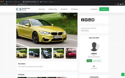Do It Yourself – Tutorials – WordPress: How to build your own classified ads website! Similar site to gumtree or craigslist